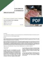Ensayo -Paneles Prefabricados de Tierra - Andrés Caguana
