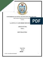 Etica y Derechos Humanos Final
