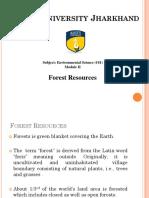 1. Forest Resource