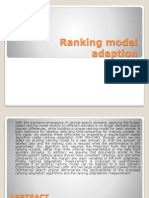 Ranking Model Adaption