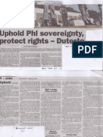 Philippine Star, Apr. 10, 2019, Uphold Phl sovereignty protect rights - Duterte.pdf