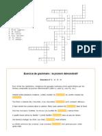 Annexe 05 Juin 2014 - Pronoms Demostratifs