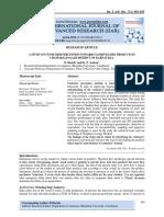 A STUDY ON CONSUMER PERCEPTION TOWARDS NANDINI DAIRY PRODUCTS IN CHAMARAJANAGAR DISTRICT OF KARNATAKA.