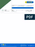 Tiket Order #111362753 Flight