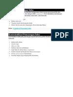 Indikasi dan kontraindikasi Pemasangan Infus.docx