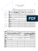 Debussy El pequeño pastor (orquestación Caplet)