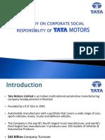 CSR at Tata Motors