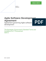 Standard Contract for Agile Software Development