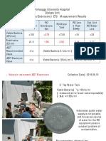 ET & Bacteria Test August 2018