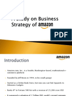 A Study on Business Strategy of Amazon