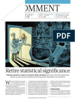Retire Statistical Significance Nature