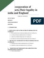 Pre Incorporation of Contracts DESRTATION.docx