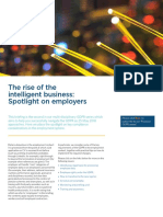 The Rise of the Intelligent Business - Spotlight on Employers