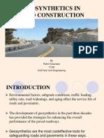 Geosynthetics in Pavement Design