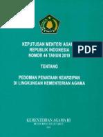 KMA 44 Tahun 2010 tetang Pedoman Kearsipan.pdf