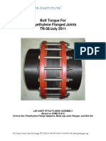 Tn-38 Bolt Torque Flanged Joints