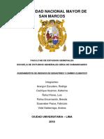 Estrategia Internacional de Reducción de Desastres Sección 1 Grupo 5