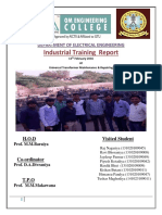 Universal Transformer Maintenance & Repairing Training Report.pdf