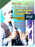 Brosur Isro Mi'Raj - Janggol