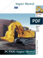 Heavy Equipment - Spek PC5500