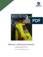 desmontaje y montaje de baterias