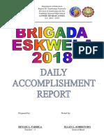 Daily Accomplishment Report Brigada Eskwela 2018.docx