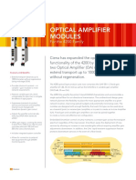 OPTICAL AMPLIFIER  MODULES