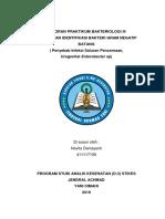 Laporan Praktikum Bakteriologi III