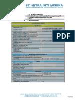 Technical Specification COBAMS - Infant Warmer LERI C88