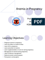 Obgyn Anemia in Pregnancy for UG Class (1)