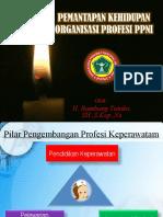Pemantapan Kehidupan Organisasi Profesi_PAK BAMBANG