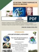 Clase N° 1 Historia Ecología