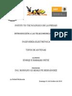 TIPOS DE ANTENAS