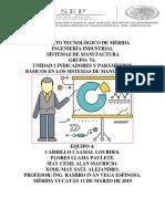 UNIDAD II INDICADORES Y PARÁMETROS BÁSICOS EN LOS SISTEMAS DE MANUFACTURA.docx