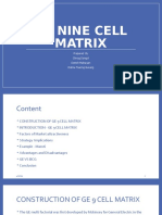 Final Ge Nine Cell Matrix