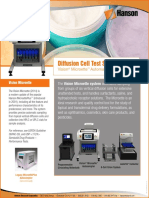 Diffusion Cell Test Systems