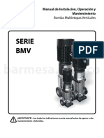 Manual_bmv_co.bomba Multietapas Verticales Serie BMV