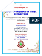 Impact of Mgnrega on Rural Development