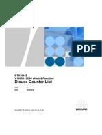 BTS3911E V100R012C00 ENodeBFunction Disuse Performance Counter List 01(2016!06!30)