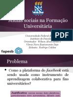 Mídias Sociais Na Formação Universitátia