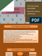 Chapter 8 (Analytical Procedures)