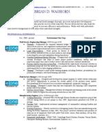 brian waghorn std resume 040819