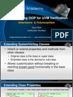verification Academy-  UVM OOP basics