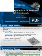 Course Systemverilog Oop for Uvm Verification Session3 Oop Design Pattern Examples Drich
