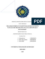 Pembaruan Proposal Pkm