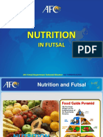16. Nutrition and Energy System in Futsal