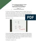 Curvature Calculus