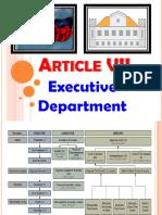 Art.7 Executive Department