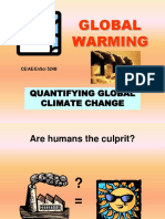 Global Warming Quantification.ppt