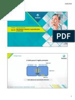 Aula 5 - Membranas Celulares - Especializações e Interação 2016.2